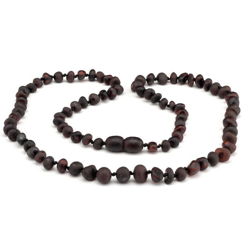 """21"""" Cherry Raw Baltic Amber Necklace"""