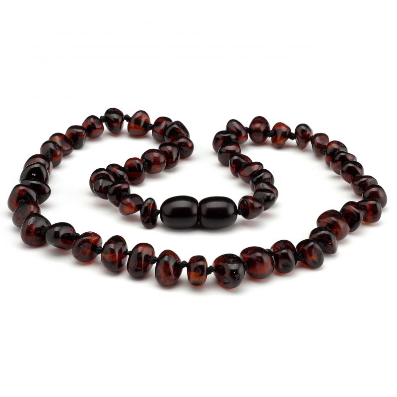 "12"" Cherry Polished Baltic Amber Necklace"