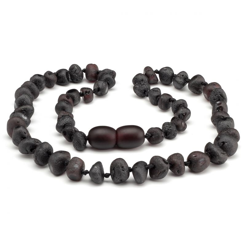 "12"" Cherry Raw Baltic Amber Necklace"